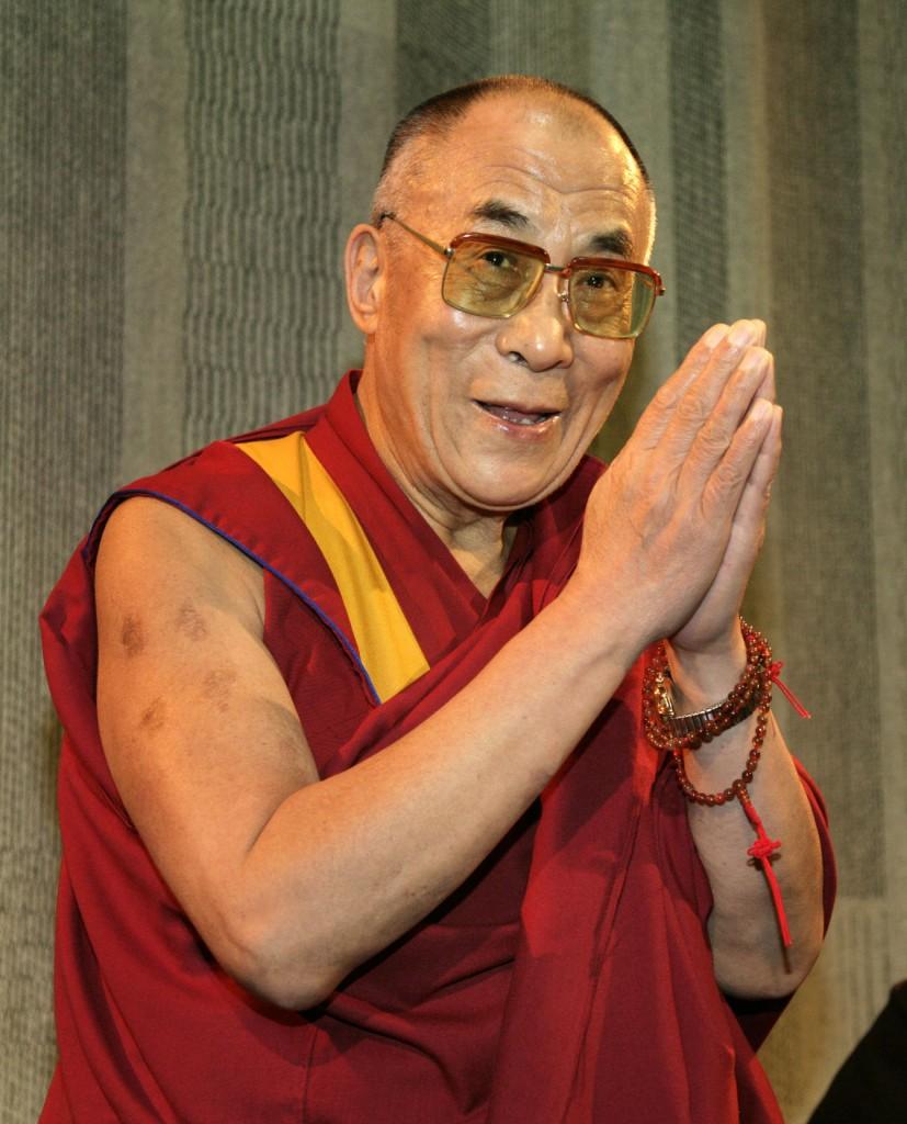 Photo of His Holiness the 14th Dalai Lama.